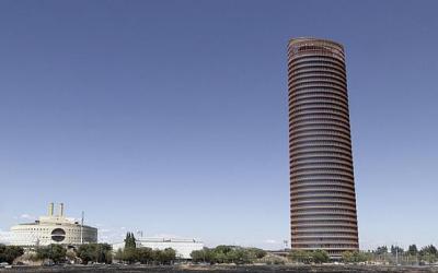 Simulacro del hotel Eurostars Torre Sevilla
